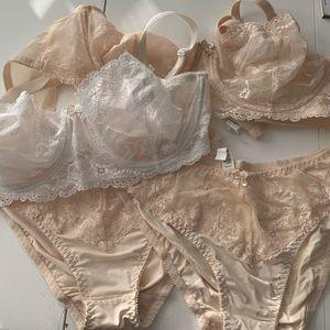 NWOT 2 bras and 2 panties